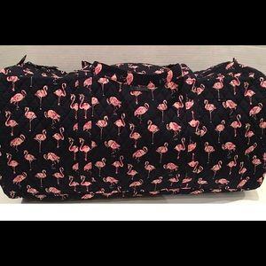 Vera Bradley XL Travel Duffel Bag Flamingo Fiesta
